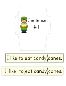 Nutcracker Kids Cut-Up Sentences