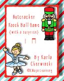 Nutcracker Koosh Ball Game {with a surprise} ta and ti-ti