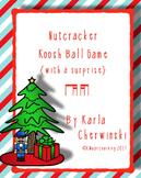 Nutcracker Koosh Ball Game {with a surprise} ti-tika tika-ti