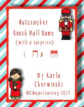 Nutcracker Koosh Ball Game {with a surprise} tika tika