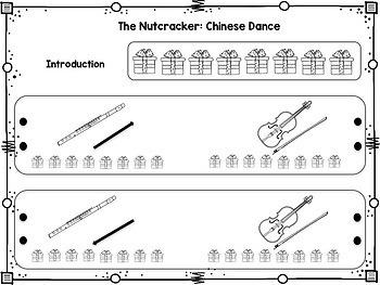 Nutcracker Listening Maps