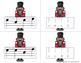 Nutcracker Melody Matching--A stick to staff notation game {sol mi la}