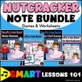 Nutcracker Music Activity BUNDLE | Games | Treble Bass Cle