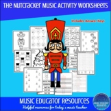 Nutcracker Music Activity Worksheets