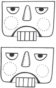 Christmas Nutcracker Paper Bag Puppet