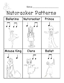 It's just a picture of Decisive Nutcracker Worksheets Printable