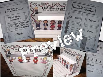 Nutcracker Pop-Ups and Interactive Worksheets
