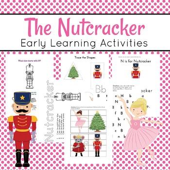 Nutcracker Preschool Learning Pack