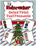 Nutcracker Quick Print Fun Fact Pennants - Visuals For Elem. Music Room