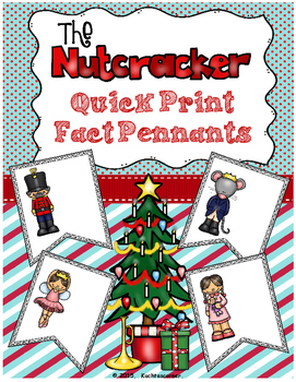 Nutcracker Quick Print Fun Fact Pennants - Visuals For Ele