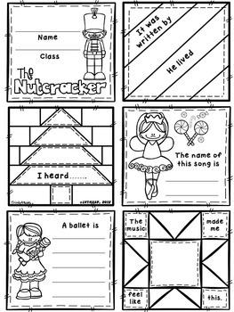 Nutcracker Quilt Worksheets (BUNDLE)