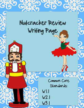 Nutcracker Review Writing Page