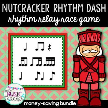 Nutcracker Rhythm Dash BUNDLE: Rhythm Relay Race Game