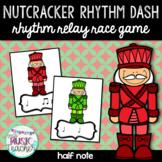 """Nutcracker Rhythm Dash """"Half Note"""" Rhythm Relay Race Game"""