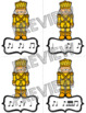 """Nutcracker Rhythm Dash """"Syncopa / Ti-Ta-Ti"""" Rhythm Relay Race Game"""