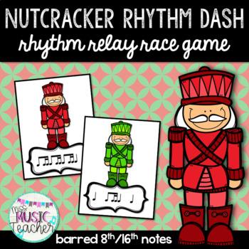 "Nutcracker Rhythm Dash ""Ti-Tika"" Rhythm Relay Race Game"