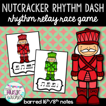 "Nutcracker Rhythm Dash ""Tika-Ti"" Rhythm Relay Race Game"