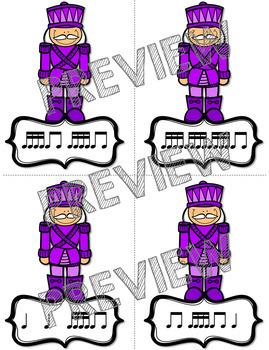 "Nutcracker Rhythm Dash ""Tika-Tika"" Rhythm Relay Race Game"