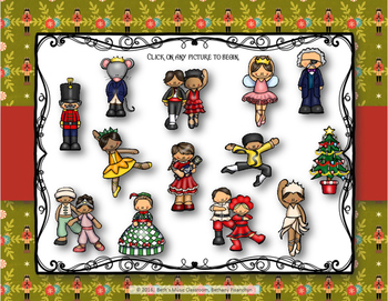 Nutcracker Rhythms - Interactive Game to Practice Ta Rest (Staff)