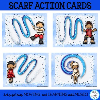 Nutcracker Scarf Activities for Music, PE, Special Needs and Elementary Classes