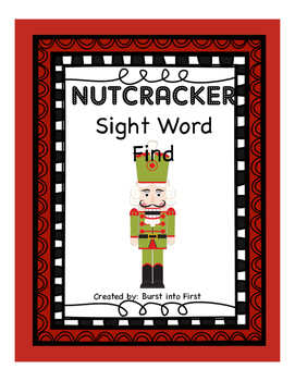 Nutcracker Sight Word Find