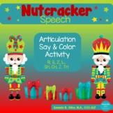 Nutcracker Speech: Say and Color Activity
