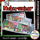 Nutcracker Story Suite - Storybook Coloring book activity