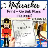 Nutcracker Sub Plans for Non Music Substitute