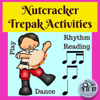 Nutcracker Trepak Dance and Classroom Instrument Accompaniment