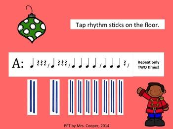 Nutcracker Trepak Russian Dance Stick Activity PowerPoint