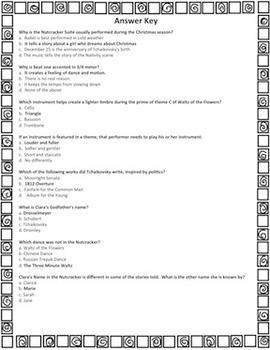 Nutcracker Trivia Game