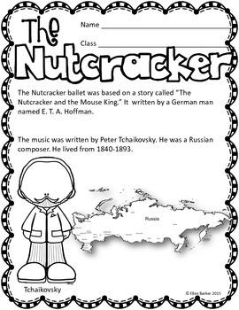 Nutcracker Worksheets