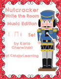 Nutcracker Write the Room Music Edition Z (quarter rest) Set