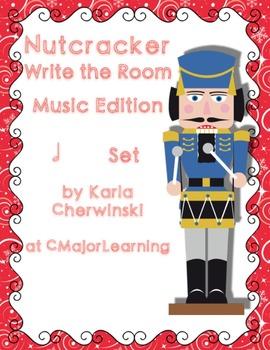 Nutcracker Write the Room Music Edition half note Set