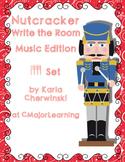 Nutcracker Write the Room Music Edition tika tika Set
