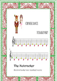 BOOMWHACKERS AND PIANO SCORE.Nutcracker-chinese dance-tcha