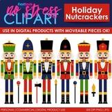 Nutcrackers Holiday Clip Art (Digital Use Ok!)
