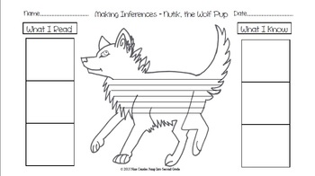 Nutik the Wolf Pup- Making Inferences