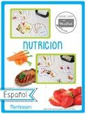 Montessori Nutricion : Nutrition in spanish