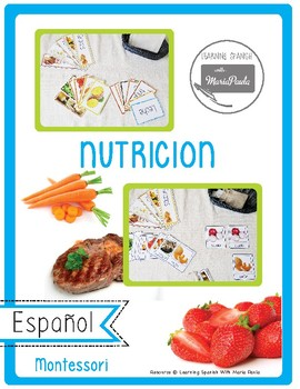 Nutricion : Nutrition in spanish