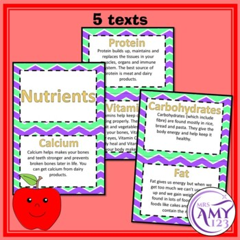 Nutrient Texts and Activity