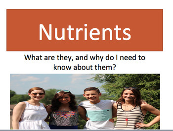 Nutrients Power Point