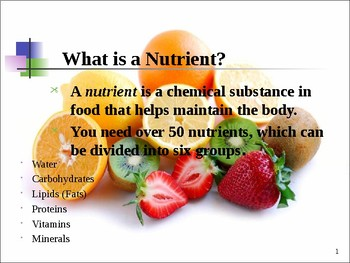 Nutrients PowerPoint