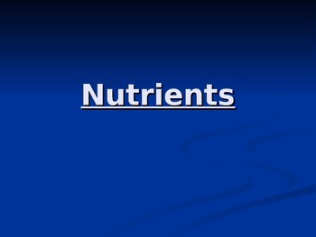 Nutrients Powerpoint Point