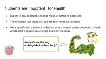 Nutrients and Health - an Introduction to the ABC of Nutrition (slides)