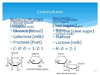 Nutrients and Macromolecules