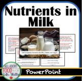 Nutrients in Milk!