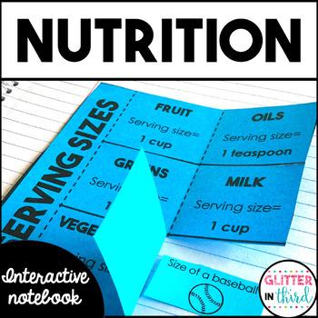 Nutrition Health Interactive Notebook