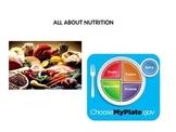 Nutrition 3rd grade Vocabulary ExC-ELL