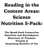 Reading in the Content Areas:  Nutrition and Health 5 Pack